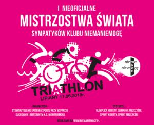 Lipiany triathlon plakat akcept FB